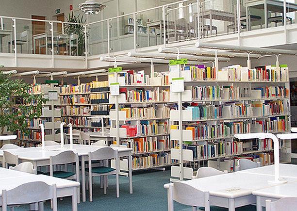 ein blick in die bibliothek der fakultt fr angewandte sozialwissenschaftlichen der hochschule mnchen - Fh Munchen Bewerbung